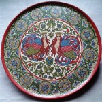 Mythological birds Decorative plate