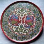 Mythological birds Decorative plate