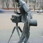 Monuments to photographers