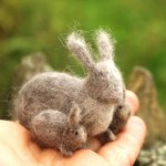 Victor Dubrovsky needle felted animals