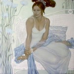 Figurative painter Valeria Kotsareva