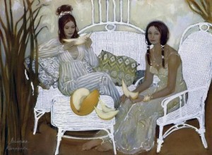 Figurative painter Valeria Kotsareva