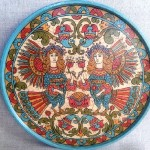 Beautiful Plate 'Birds Alkonost'