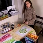 Paper quilling art by Yulia Brodskaya