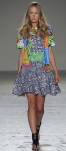 Summer landscape, Africa inspired collection by Stella Jean