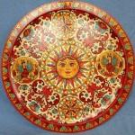 Sun. Severodvinsk painting