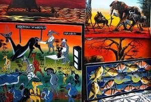 African painting Tingatinga