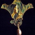 Exquisite brooch, Renе Jules Lalique