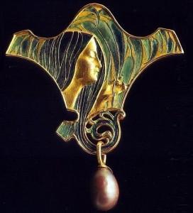 Exquisite brooch, Renе Jules Lalique