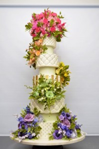 Cake by cook designer Sylvia Weinstock
