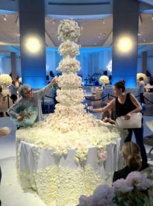 Artful cake by Manhattan based cook designer Sylvia Weinstock