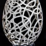 Goose eggshell carving by Piotr Bockenheim