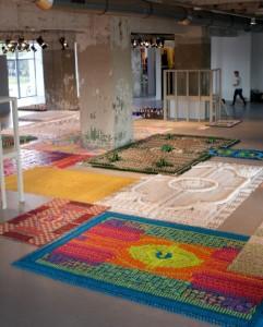 Creative carpet installations