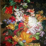 . Silk hand embroidery on silk