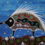 Aboriginal art by Melanie Hava