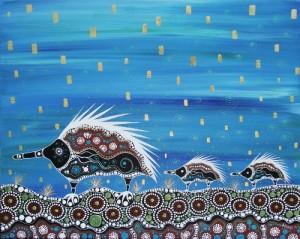 Aboriginal art by Melanie Hava