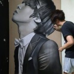 Hyperrealistic drawing by Singaporean artist Ivan Hoo
