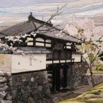 Traditional Japanese patchwork Kinusaiga art