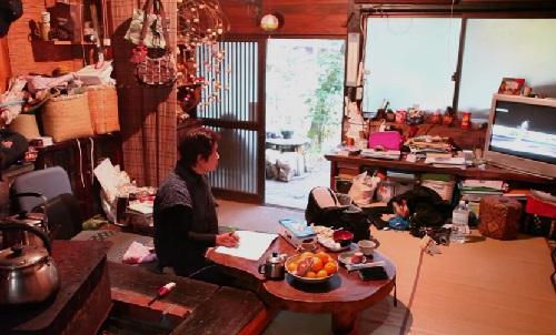 Japanese painter Masaaki Sasamoto
