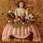 Russian artist Anna Berezovskaya