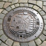 Bergen Norway Manhole cover