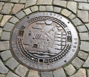 Bergen Norway Manhole cover