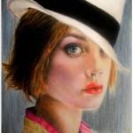 Portrait of Natalia Vodianova