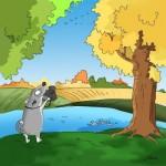 Reasons to love autumn by illustrator Bird Born