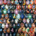 Painted Egg Mosaics by Oksana Mas