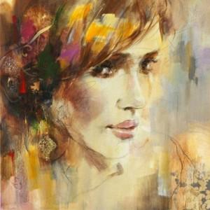 Painting by Russian artist Anna Razumovskaya