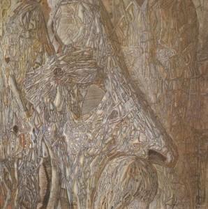 Painting by Ukrainian artist Ivan Marchuk