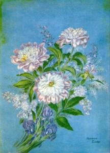 Drawing by Ukrainian folk artist Yekaterina Belokur