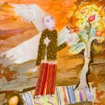 Batik artist Irina Kazimirova