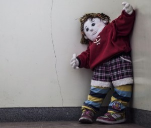Weird dolls inhabiting Nagoro village