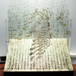 Rotating Glass Sculpture by Christopher Jobson