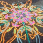 Sand artist Joe Mangrum