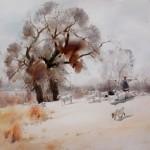 Chinese watercolorist Guan Weixing