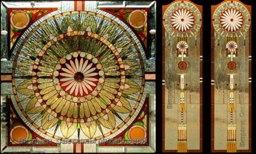 Stained glass art studio by Svetlana Mikhailova