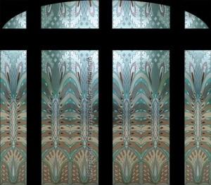 Stained glass art by Svetlana Mikhailova
