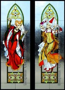 Stained glass art by Svetlana Mihailova