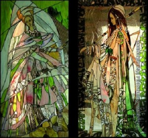 Stained glass art by Svetlana Mihailova