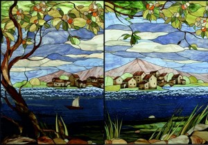Stained glass art by Moscow based artist Svetlana Mihailova