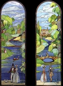 Stained glass painting by Svetlana Mihailova