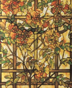 Louis Comfort Tiffany stained glass art