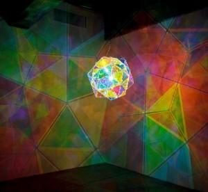 Fabulous light installation by Olafur Eliasson