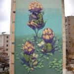 Street artist Rustam Qbic