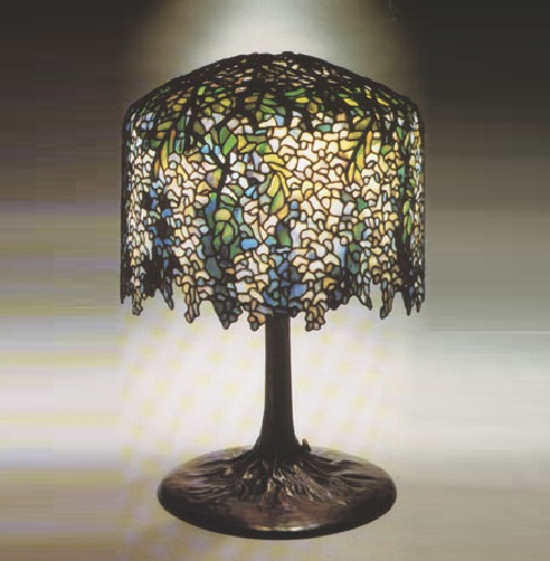 Wisteria table lamp art kaleidoscope wisteria table lamp aloadofball Choice Image