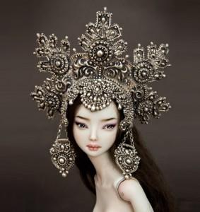 Elena the beautiful. Artwork by Doll master Marina Bychkova