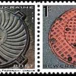Manhole cover art