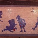 Alice in Wonderland New York Metro mosaics